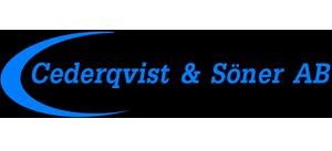 Cederqvist & Söner AB – Rörmokare, Smide, Värmepumpar, Vattenfilter i Osby, Östra Göinge, Älmhult, Tingsryd & Olofström Logotyp